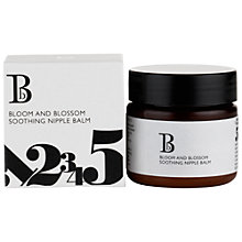 Buy Bloom and Blossom Soothing Nipple Balm, 30ml Online at johnlewis.com