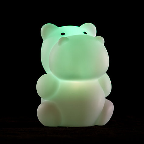 Buy Celeste and Moon Hippo Nightlight Online at johnlewis.com