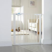 Buy Lindam Easy Fit Plus Deluxe Safety Gate, White Online at johnlewis.com