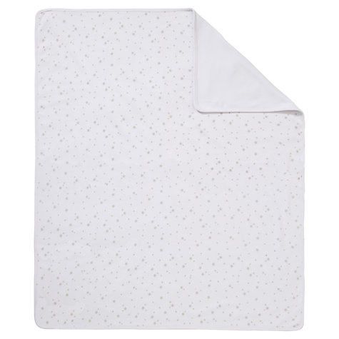 Buy John Lewis Baby Star Swaddling Blanket, Grey Online at johnlewis.com