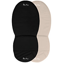 Buy Silver Cross Surf, Wayfarer and Pioneer Reversible Seat Liner, Black/Sand Online at johnlewis.com