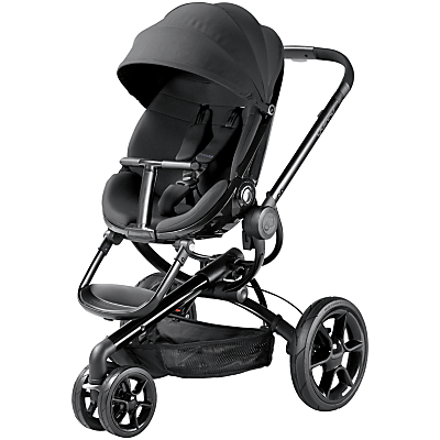 Quinny Moodd 3 Pushchair, Black Devotion
