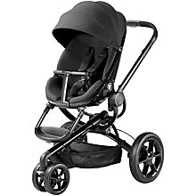 Buy Quinny Moodd 3 Pushchair, Black Devotion Online at johnlewis.com