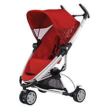 Buy Quinny Zapp Xtra Pushchair, Red Revolution Online at johnlewis.com