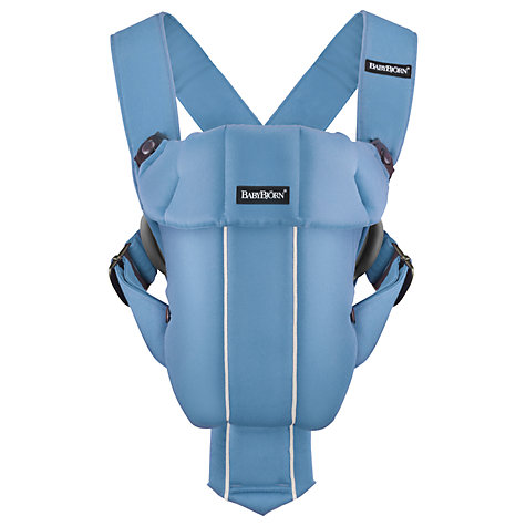 Buy BabyBjörn Original Classic Carrier, Light Blue Online at johnlewis.com