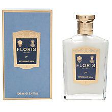 Buy Floris JF Aftershave Balm, 100ml Online at johnlewis.com