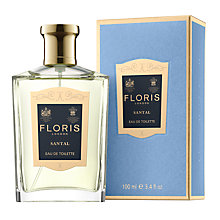 Buy Floris Santal Eau de Toilette, 100ml Online at johnlewis.com