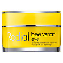 Buy Rodial Bee Venom Eye, 30ml Online at johnlewis.com