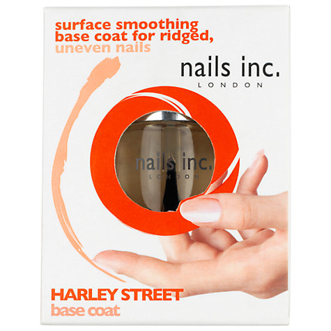 Buy Nails Inc. Harley Street Ridge Filling Base Coat, 10ml Online at johnlewis.com