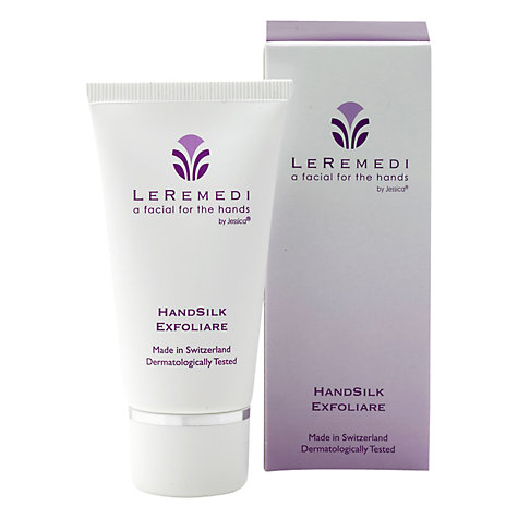 Buy Jessica LeRemedi Handsilk Exfoliare Cream, 50ml Online at johnlewis.com