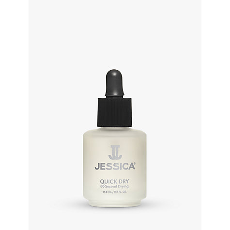 Buy Jessica Quick Dry Nail Oil, 14.8ml Online at johnlewis.com