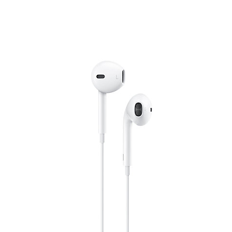 Buy Apple EarPods with Remote and Mic Online at johnlewis.com