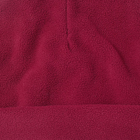 Buy School Fleece Hat, Maroon Online at johnlewis.com