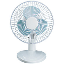 Buy NSA'UK DF-6 White Desk Fan, 6 Inch Online at johnlewis.com