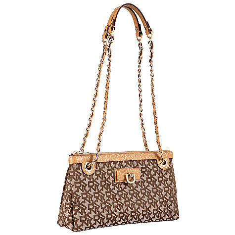 Buy DKNY Town & Country Small Across Body Handbag with Chain Online at johnlewis.com