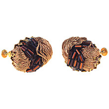 Buy Alice Joseph Vintage 1950s Miriam Haskell Clip On Earrings Online at johnlewis.com
