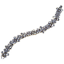 Buy Alice Joseph Vintage 1950s Norman Hartnell White Diamanté Bracelet Online at johnlewis.com