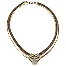 Buy Alice Joseph Vintage 1960s Grosse Gilt Plated Small Pave Diamante Necklace Online at johnlewis.com