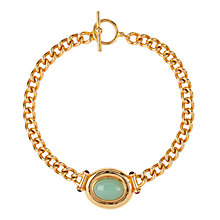 Buy Susan Caplan Vintage 1990s Elizabeth Taylor Luminous Cabochon Necklace, Gold Online at johnlewis.com