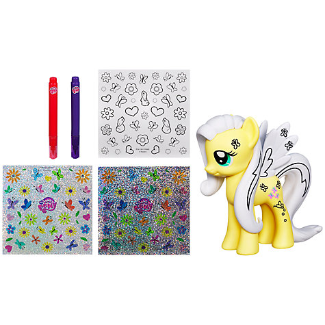 Buy My Little Pony Crystal Empire Decorative Pony, Assorted Online at johnlewis.com