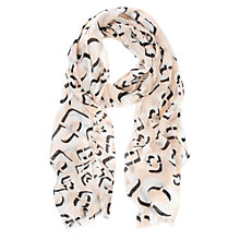 Buy Mint Velvet Maddie Print Scarf, Multi Online at johnlewis.com