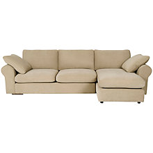 Buy John Lewis Jones Scroll Arm Chaise End Sofa Online at johnlewis.com