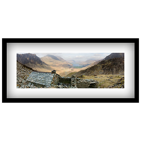 Buy James Bell - Retreat Framed Print, 49 x 104cm Online at johnlewis.com