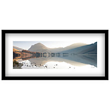 Buy James Bell - Buttermere View Landscape Framed Print, 49 x 104cm Online at johnlewis.com