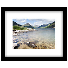 Buy James Bell - Wastwater Summer Framed Print, 44 x 54cm Online at johnlewis.com