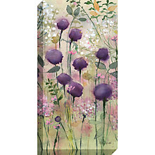 Buy Catherine Stephenson - Lilac Pod Print on Canvas, 80 x 40cm Online at johnlewis.com