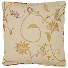Buy John Lewis Emma Cushion Cover, Claret Online at johnlewis.com