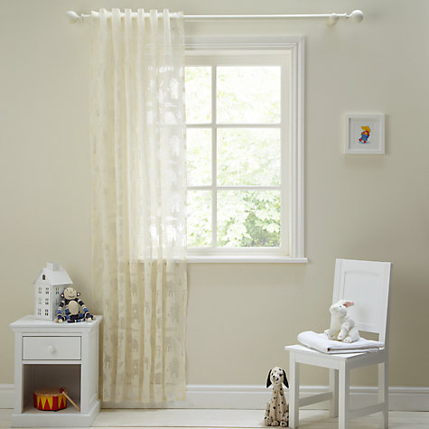 Buy John Lewis Aslan Voile Panel, Cream Online at johnlewis.com