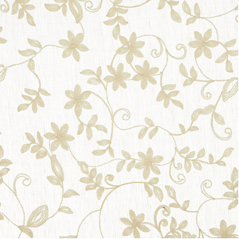 Buy John Lewis Elvira Voile Panel, Natural, W135 x Drop230cm Online at johnlewis.com