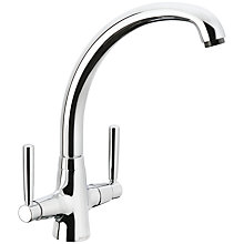 Buy John Lewis Sygnet Kitchen Tap, Chrome Online at johnlewis.com