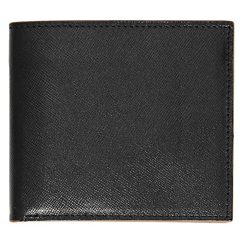 Buy Reiss Allen Fold Wallet, Black Online at johnlewis.com