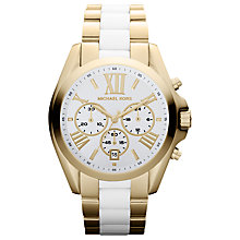 Buy Michael Kors MK5743 Women's Chronograph Watch Online at johnlewis.com