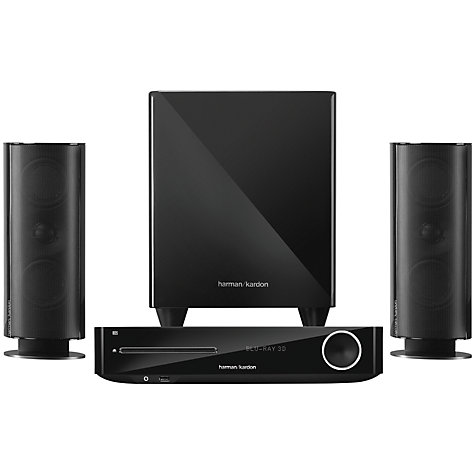 Buy Harman Kardon BDS 477 2.1 3D Blu-ray/DVD Home Cinema System with Apple Airplay Online at johnlewis.com