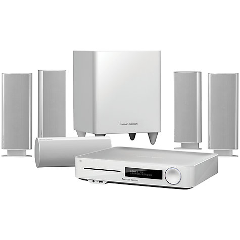 Buy Harman Kardon BDS 7773 5.1 3D Blu-ray/DVD Home Cinema System with Apple Airplay Online at johnlewis.com