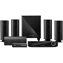 Buy Harman Kardon BDS 877 5.1 3D Blu-ray/DVD Home Cinema System with Apple AirPlay & Wireless Subwoofer Online at johnlewis.com