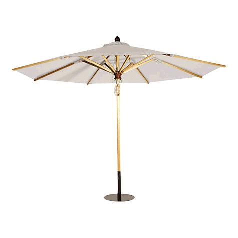 Buy Barlow Tyrie Napoli Telescopic Round Parasol, 4m Online at johnlewis.com