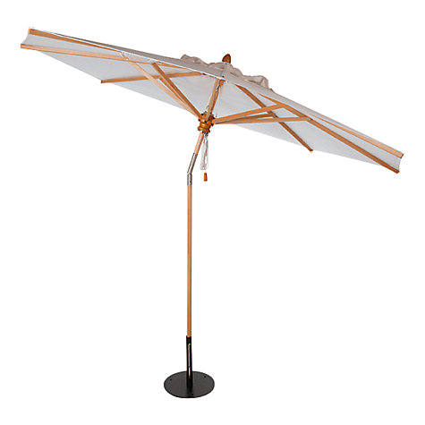 Buy Barlow Tyrie Napoli Telescopic Tilting Round Parasol, 2.8m Online at johnlewis.com