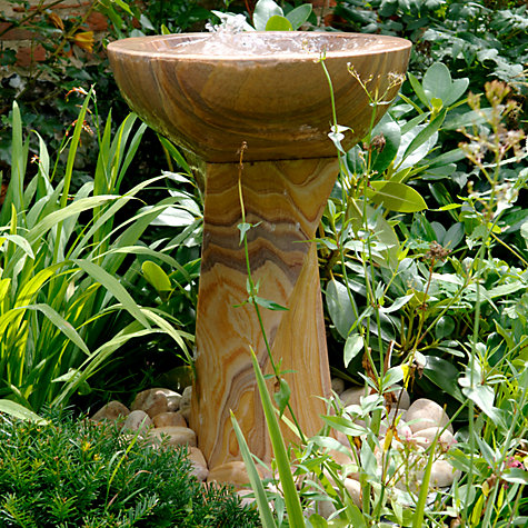 Buy Foras Twist Water Feature with Luminar Kit Online at johnlewis.com