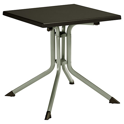 Buy Kettler Basic Plus Folding Garden Table, 70 x 70cm Online at johnlewis.com