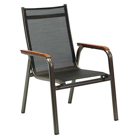 Buy Kettler Grenada Outdoor Stacking Armchair Online at johnlewis.com