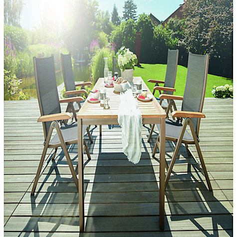 Buy Kettler Grenada 6 Seater Rectangular Outdoor Dining Table Online at johnlewis.com