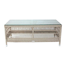 Buy Kettler Hampton Outdoor Coffee Table, Whitewash Online at johnlewis.com