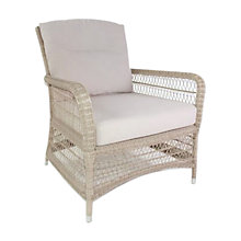 Buy Kettler Hampton Outdoor Lounge Chair, Whitewash Online at johnlewis.com