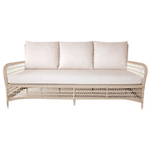 Buy Kettler Hampton Outdoor Lounge Sofa, Whitewash Online at johnlewis.com