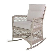Buy Kettler Hampton Outdoor Rocking Chair, Whitewash Online at johnlewis.com