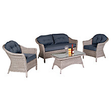 Buy Kettler Loire Outdoor Furniture Set, Whitewash Online at johnlewis.com
